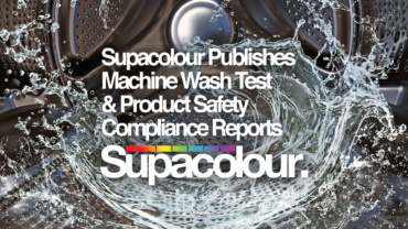 Supacolour Publishes Machine Wash Test & Product Safety Compliance Reports